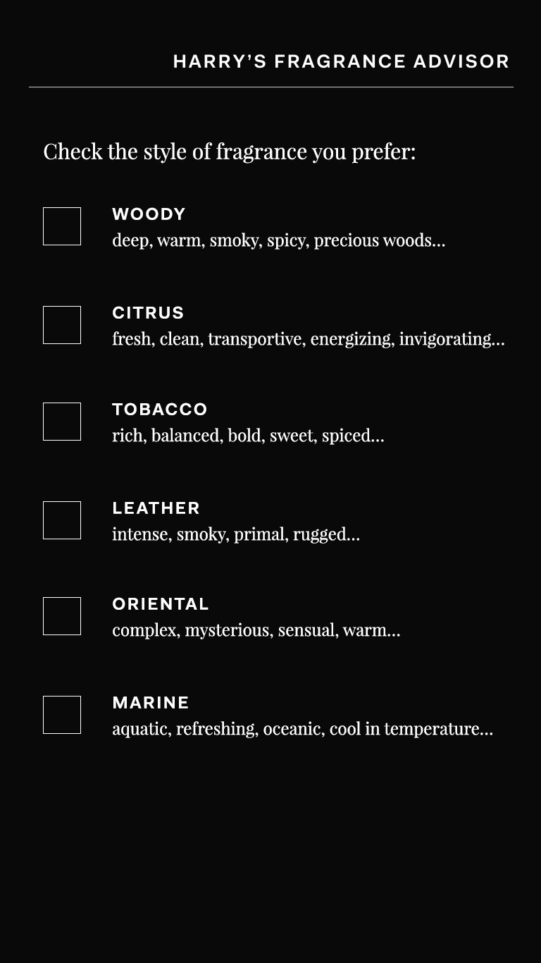 harrys-fragrance-advisor-checkboxes